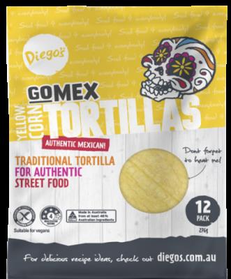 Diego's brand: GoMEX